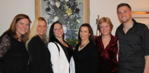 The Julie Kinnear team, from left: Julie Kinnear, Claire Hartviksen, Stephanie Mitchell, Holly Chandler, Jennifer Palacios and Tyler Delaney.