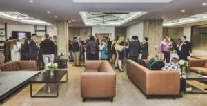 """""""Most business people who use co-work spaces want to be where the people are all working, so they can interact and network,"""" says Willmott."""