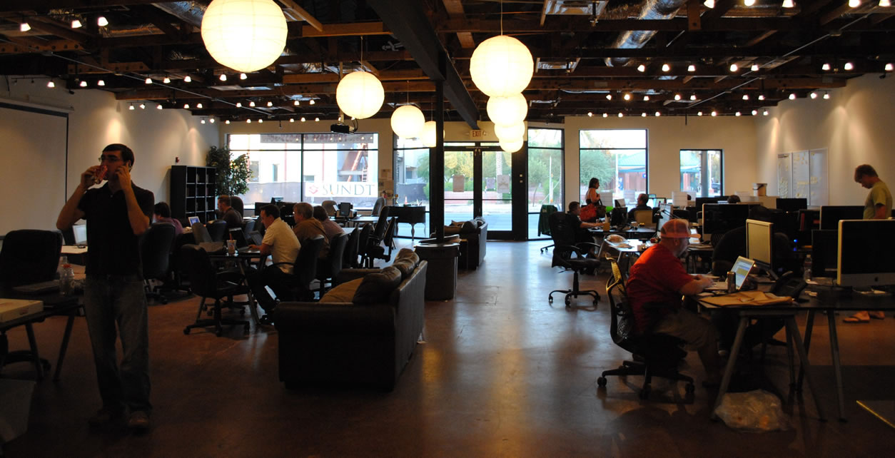 co-working space in real estate