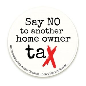 OREA has launched a website to spread the word about the proposed new tax.