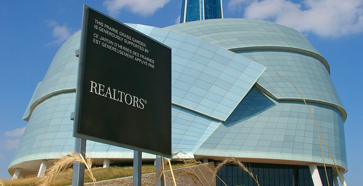 Realtors contributed $2 million to the Canadian Museum for Human Rights in Winnipeg.