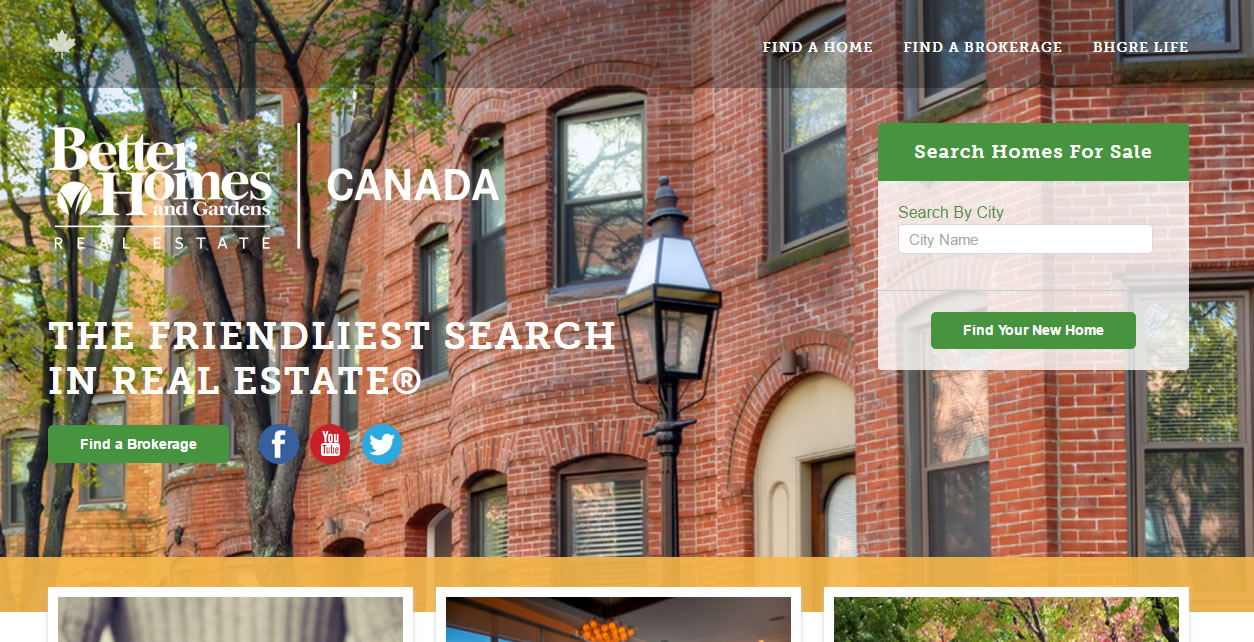 Better homes and gardens real estate introduces revamped canadian website rem real estate Better homes and gardens website