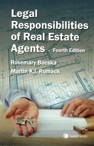 Legal Responsibilities of Real Estate Agents, Fourth Edition
