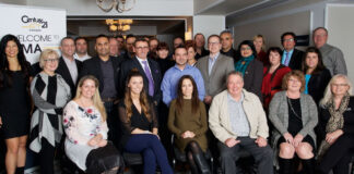 Attendees at the Century 21 Canadian Management Academy.
