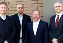 From NAI Commercial Okanagan, from left: principals Mike Geddes, Tony Parmar, Philip Hare and Tim Down.