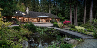 The property at 2250 Indian River Crescent in North Vancouver is listed for $34.2 million.