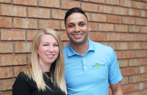 Lisa Abreu and Warren Mascarenhas, founders of FeeDuck