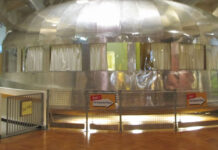 The Dymaxion House (the house of the future) on display at The Henry Ford, a museum complex in Michigan.