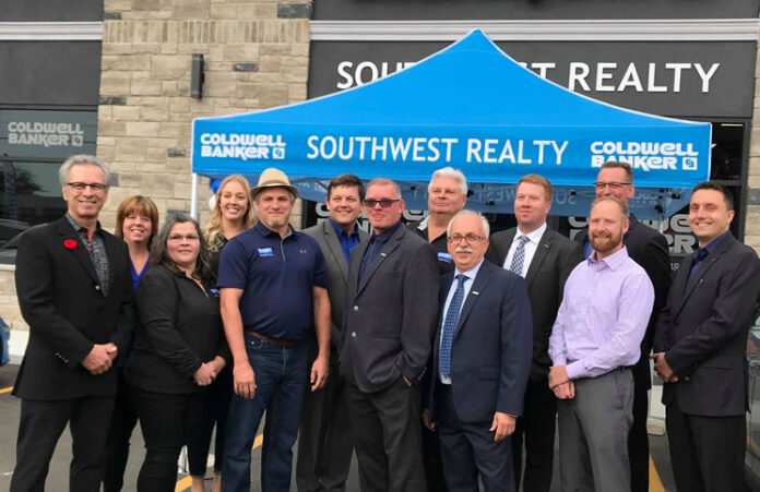 A grand opening celebration of Coldwell Banker Southwest Realty was held recently at the Sarnia brokerage. It has now added a second office in Petrolia.