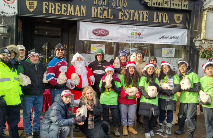 Freeman Real Estate's third annual turkey giveaway will be held Dec. 16.