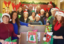 Volunteers run the Annual Christmas Gift House in Vernon.