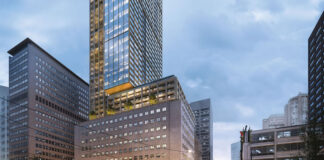 The United Building will include 55 storeys of commercial and retail space, along with 759 residences.