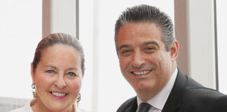 Mary Johnson and Costa Poulopoulos