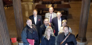 The trade delegation travelled to Toledo, Ohio.