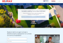 The Home Value Estimator has launched on remax.ca.