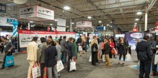 A record 275 exhibitors attended this year's Realtor Quest.