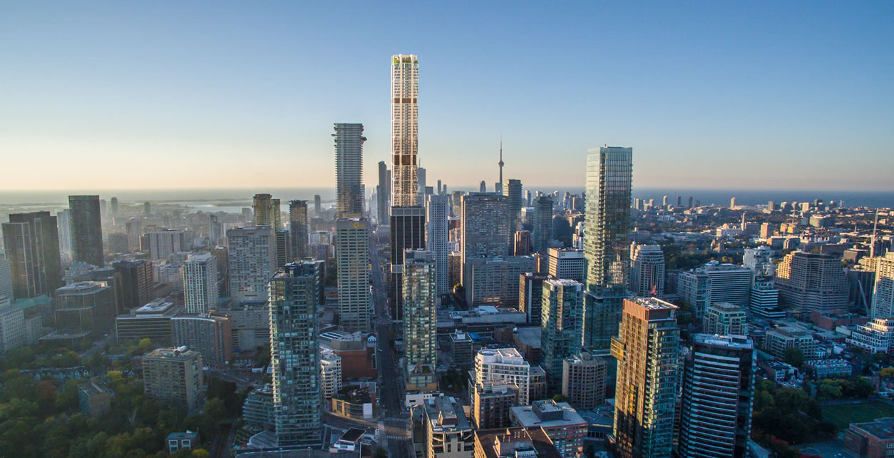 The One will be the tallest condo building in Canada.