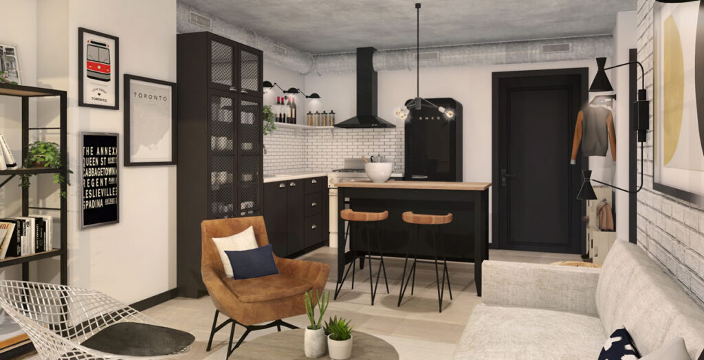 Node will soon start construction of its first Canadian co-living apartment in Kitchener, Ont.