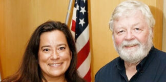 Jody Wilson-Raybould and Michael Cowhig