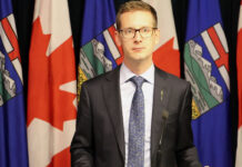 Minister of Service Alberta Nate Glubish announces that the RECA members will be dismissed.