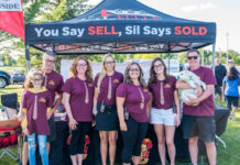 The SilSells team has raised $43,000 during the last four years.
