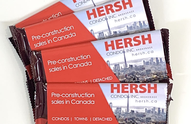 """I've had more fun with these business cards than probably anything,"" says Hersh Litvack."