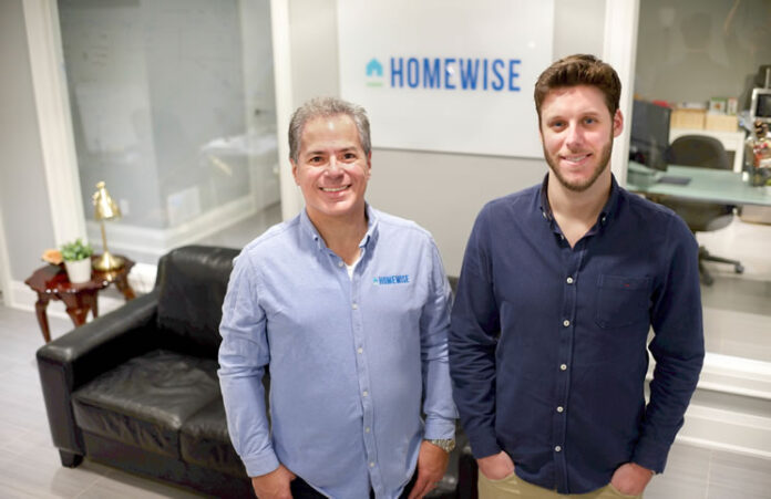 Homewise COO and head of data Carlos Medeiros, left, and founder and CEO Jesse Abrams. (Photo: Brad Silverberg)