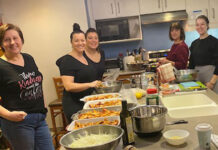 A team from Sutton – Premier Realty, led by Shahin Soheili, cooked dinner at Ronald McDonald House for 50 guests.