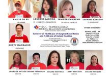 The executive of the Filipino Canadian Real Estate Association