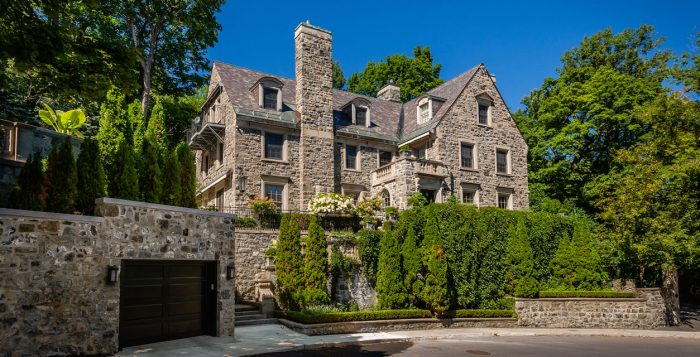 The home was listed for $20 million.