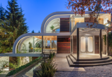 The home was created 30 years ago and broke boundaries about what could physically be done with steel.