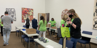 Chatham-Kent Realtors purchased and packed more than 200 bags for distribution to organizations supporting those who are homeless.