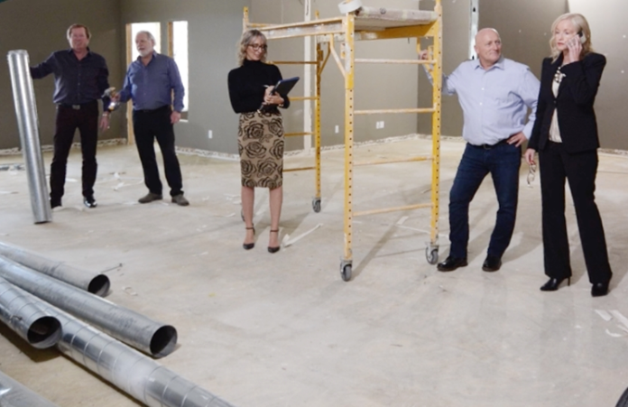 The leadership team will move into their new office in April.