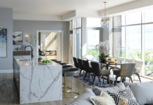 The 2,444-square-foot condo suite sold for full price – $2.085 million.
