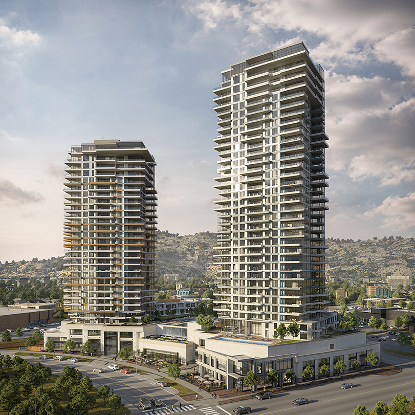 The penthouse crowns the tallest building between Metro Vancouver and Calgary.