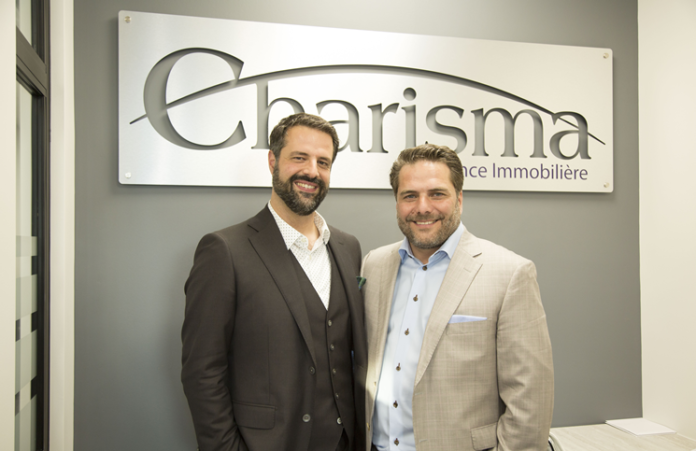Charisma founders Andreas Patogiannis, left and Michael Mastronikolas