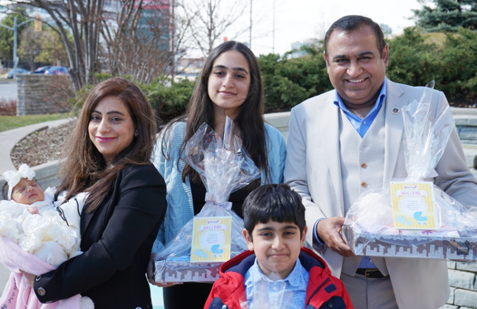 Raman and Nidhi Dua and family recently celebrated the birth of their third child by donating $2.5 million to Trillium Health Partners.