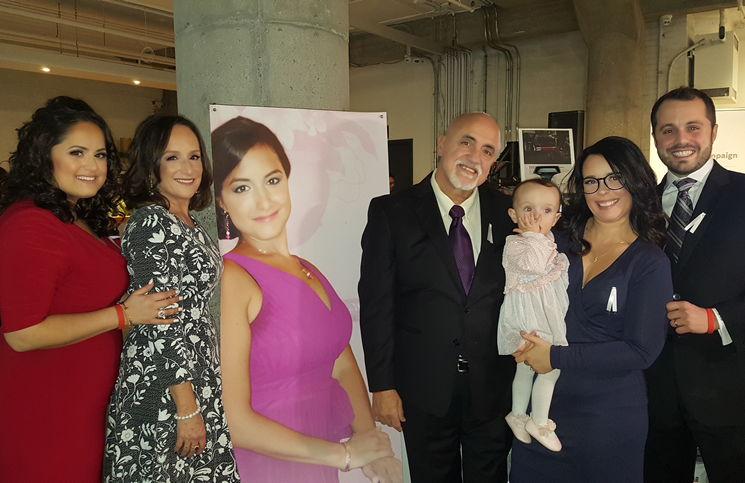 The D'Amico family launched the foundation in late 2018.
