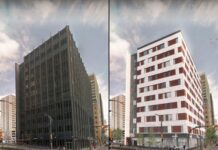 Sierra Place is converting a downtown office tower into affordable housing units.