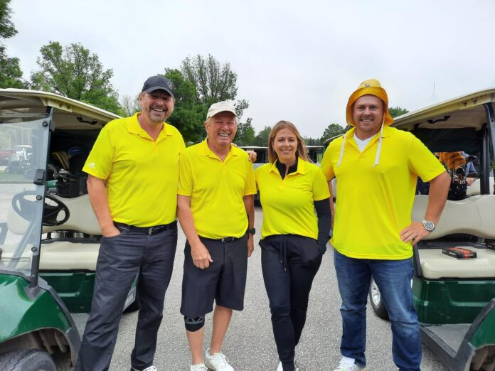 Golfers at the tournament raised more than $60,000 for Easter Seals