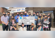 The team also recently donated $10,000 to the SickKids Foundation.